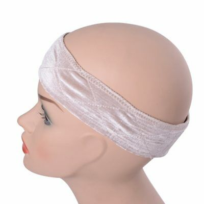 Velvet Wig Grip Headband Secure Fit Adjustable Band Non Slip Scarf Protect Hair