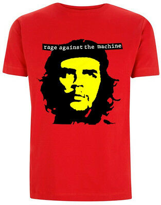 Rage Against The Machine 'Che' (Red) T-Shirt - NEW & OFFICIAL!