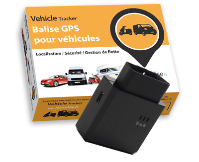 Balise GPS jelocalise OBD II Tracker pour voitures et camions Traceur GPS facile