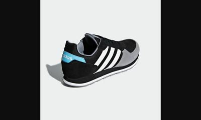 super popular ab6f3 1fc94 Adidas 8K B44675 Mens Black UK 6-11