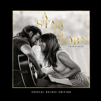 A STAR IS BORN (Soundtrack) (Lady Gaga / Bradley Cooper) Deluxe Edition CD 14/12