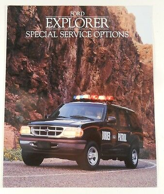 1995 Ford Explorer Special Service Options Police