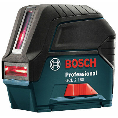 Bosch GCL2160SRT Self-Leveling Cross Line Laser w/ Plumb Points Recon