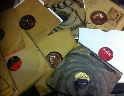 LOVELY JOB LOT OF 30  BRITISH DANCE BAND 78s - LEW STONE, HARRY ROY, ROY FOX etc