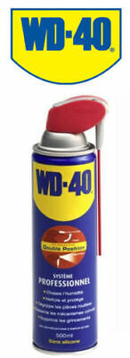 WD40 LUBRIFIANT DÉGRIPPANT WD40 - 500ml   (Spray double position)  Dégrippant eu