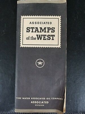 Tide Water Associated Oil Company, Complete Book of 100 Stamps