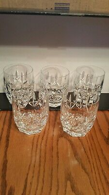 Waterford Crystal Old Fashioned / Highball Glasses (probably Westhampton)
