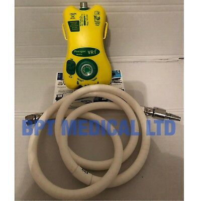 Smiths Medical 520A1126 Pneupac VR1 Airmix Emergency Transport Ventilator + Hose