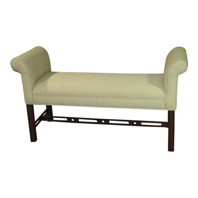 Vintage Ethan Allen Chippendale Style Bench