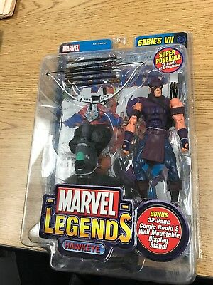 "Toy Biz Toybiz Marvel Legends 2004 Series 7 VII Hawkeye 6"" Action Figure"