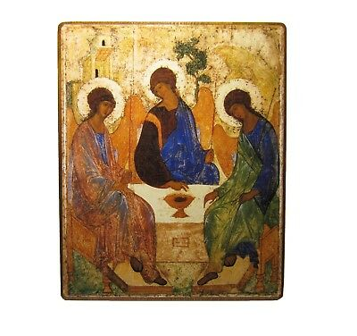 Orthodox icon of the Holy Trinity Andrei Rublev