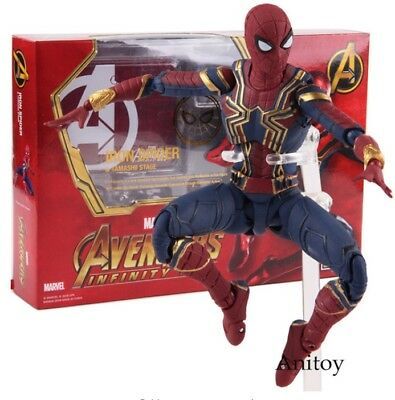 S.H.Figuarts/ Avengers - Infinity War/ Spiderman - Iron Spider/ PVC figure/14cm
