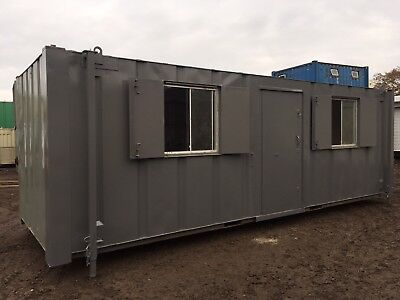 Office Welfare Cabin Drying Room Anti Vandal Steel Portable Building 24ft
