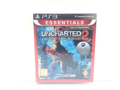 Juego Ps3 Uncharted 2: Among Thieves Essentials Ps3 4204487