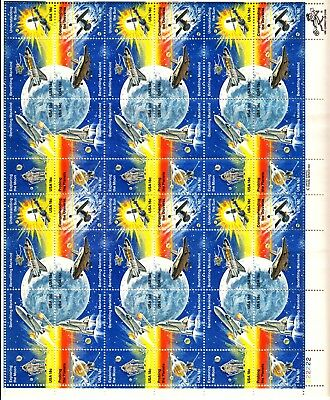 USA Stamps 1981 Scott#1912-1919 18c Space Achievement Sheet of 48 Stamps MNH