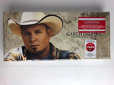 Garth Brooks Country Music The Ultimate Collection 10 CD Box Set-Gunslinger NEW