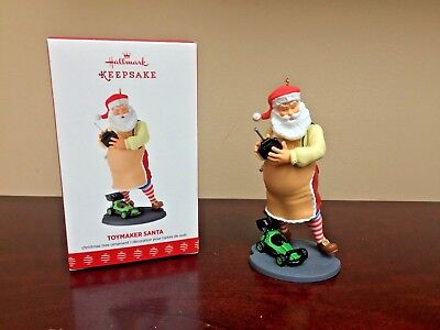 2017 Hallmark Ornament Toymaker Santa   #18 in Series