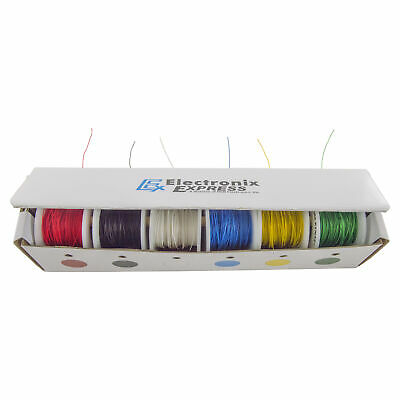 30 Gauge Wire Wrap Kit, Solid Kynar Insulated - Six 100 Foot Spools
