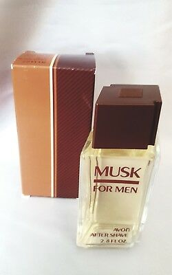 LAST 1* Vintage Avon Original Musk for Men After Shave 2.8 oz NEW IN BOX / NOS