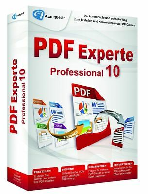 Pdf Experte 10 Pro -  Fully Compatible With Adobe Acrobat Files & Ms Office 365