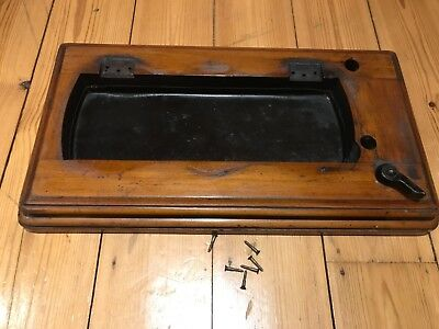 VINTAGE SINGER 12k FIDDLE BASE SEWING MACHINE BASE/TRAY