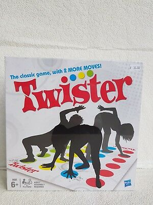 HasbroTwister The Classic Family Childrens Party Game - Genuine Hasbro, NEW