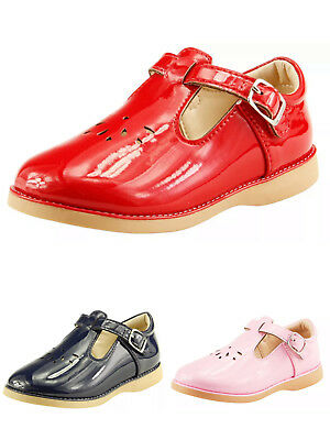 Pink Color Toddler Girl/'s School Dress Classic Shoes Touch Close Mary Jane Gold