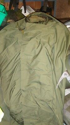dutch army gore-tex bivi bag very good used condition olive green large 2