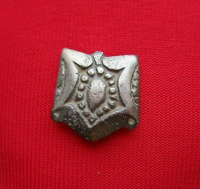 Silver Celtic mount / very nice ancient artifact . circa 200 BC.