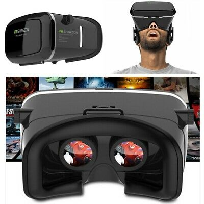 Google Headset Cardboard 3rd VR BOX Virtual Reality 3D Glasses for Smartphone