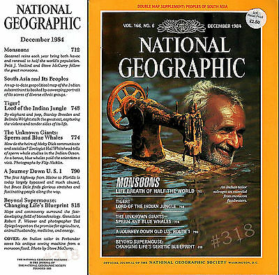 Motoring History JOURNEY DOWN OLD US 1 - National Geographic Magazine Dec' 1984