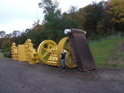 "48"" x 60"" Kennedy Rock Jaw Crusher Plant Quarry.. Made in USA"