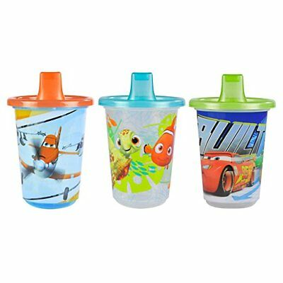 The First Years Disney Take & Toss Sippy, 10 Ounce, 3 Pack Pixar