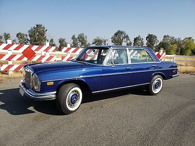 1969 Mercedes-Benz 300-Series 300SEL 6.3 Mercedes 1969 Mercedes Benz 300SEL Euro model, VIDEO