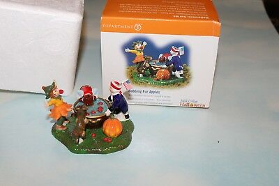 "Dept 56 SV Halloween Village ""Bobbing For Apples"" 55185 Accessory"