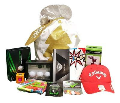 Callaway Hamper - Golf Balls, Accessories Plus Much More - Great Gift Idea!