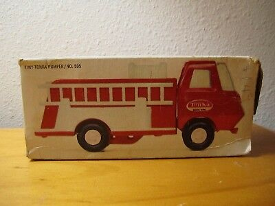 Vintage 1960s Tiny Tonka Fire Truck Pumper No. 595