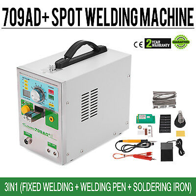 709AD+ 3in1 Battery Pulse Spot Welder for 18650 Soldering Welding Machine 3.2KW