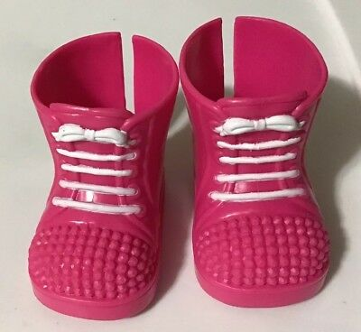 Fisher Price Little Mommy Doll Pink Replacement Shoes Boots EUC
