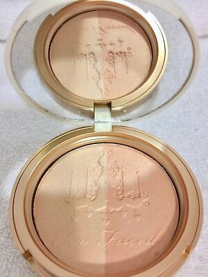 Too Faced Candlelight Glow Highlighting Powder Duo Warm Glow AUTHENTIC NEW INBOX