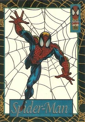 1994 Fleer Amazing Spider-Man Suspended Animation Card #10 – Spider-Man