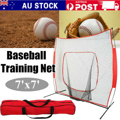 Baseball Practice Net Softball Hitting Batting Catching Pitching Training Net AU