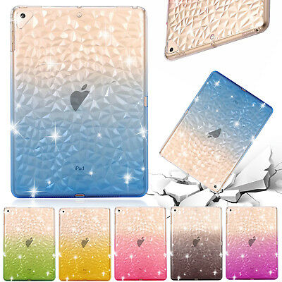 For iPad 9.7 2018 Air 2 Pro Mini Case Shockproof TPU Clear Ultra Slim Back Cover