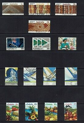 Australia Decimal. Stamps From   1987 To 1989..bulk Collection...all Different