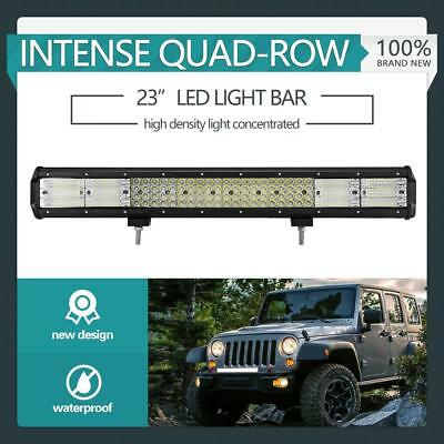 """23inch Philips LED Light Bar Combo Offroad Driving Work Truck 2256W 20/23"""" +Wire"""