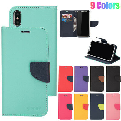 Magnetic Flip PU Leather Case Wallet Cover For iPhone 11 Pro Max XS XR X 8 6 7+