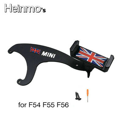 360° Rotation Mobile Phone Mount Cradle Holder Stand For Mini Cooper F54 F55 F56