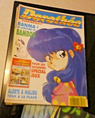 Magazine Club Dorothee Revue Numero N° 189 Ranma 1/2 Bambou Complet Rare 1993