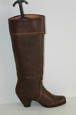 Boots STACCATO Leather Granulated Brown Lined leather T 39 VERY GOOD CONDITION