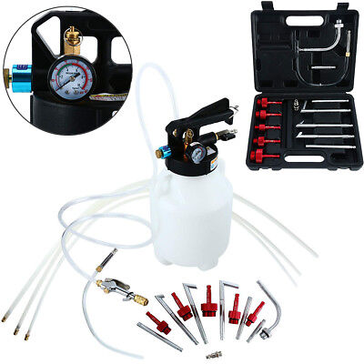 Two Way 6L Pneumatic Air Engine Gear ATF Oil & Fluid Extractor Dispenser Kit